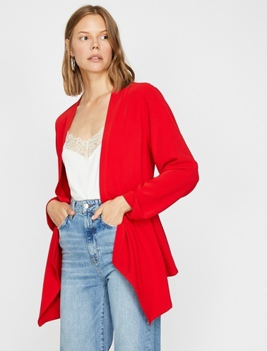 Koton Ceket Kırmızı